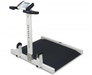 Wheel Chair Scale detecto #6550 | wheelchair scale, portable, digital, folding