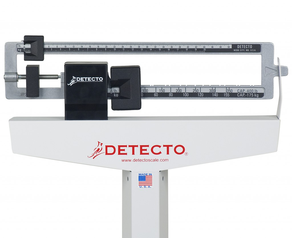 Detecto 439 Eye Level Physician Scale With Mechanical